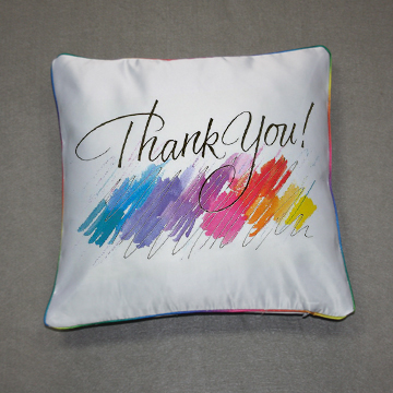 sublimation white blank special Pillow Case for heat transfer printing
