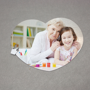 Sublimation Photo Puzzle with Customized Photo Printing