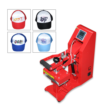 Semi Auto with Magnetic Force Cap Heat Press Machine